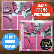 JAPAN POSTCARD+MINI LP CD WITH BONUSTR! P!NK PINK GREATEST HITS... SO FAR 2019!