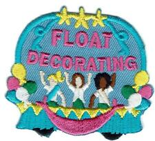 Girl Boy Cub FLOAT DECORATING Making Fun Patches Crests Badges SCOUT GUIDE