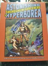 Astonishing Swordsmen & Sorcerers of Hyperborea RPG - NEW! OSR D&D Original Ed
