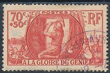 CO - TIMBRE DE FRANCE N° 423 oblitéré