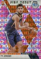 2019-20 Panini Mosaic NBA Debut Pink Camo Prizm Ty Jerome #273 Rookie
