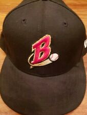Vintage Buffalo Bisons Fitted New Era Hat Size 7 1/4 New Minor League Baseball