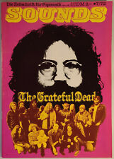 █ SOUNDS Nr.41 Juli 7/1972 GRATEFUL DEAD Blood Sweat Tears CARAVAN WIND Karthago