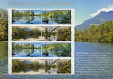 Liechtenstein 2018 MNH Nature Reserves Halos 8v M/S Trees Lakes Stamps