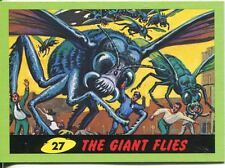 Mars Attacks Heritage Green Parallel Base Card #27    The Giant Flies