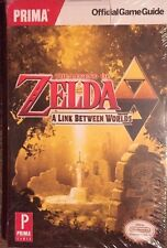 .THE LEGEND OF ZELDA A LINK BETWEEN WORLDS OFFICIAL STRATEGY GUIDE