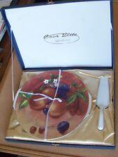 T Limoges Casa Eltite ceramic serving platter tray & server fruit design