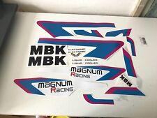 kit autocollants mbk 51  Magnum racing ceramic white