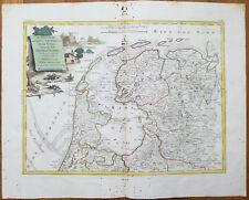 Zatta Large Original Map Netherlands Frisia - 1779