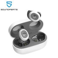 SoundPEATS TrueFree 2 White True Wireless Earbuds Bluetooth 5.0 Earphones IPX7