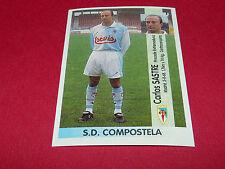 CARLOS SASTRE S.D. COMPOSTELA PANINI LIGA 96-97 ESPANA 1996-1997 FOOTBALL