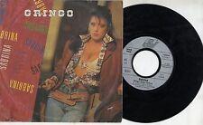 SABRINA SALERNO disco 45 giri STAMPA TEDESCA REMIX Gringo 1989 MADE in GERMANY