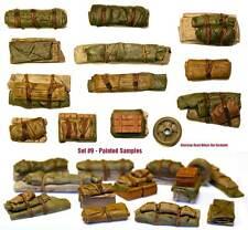 1/35 Escala Kit de resina TIENDAS & tarps Set #9 Militar Modelismo estribas