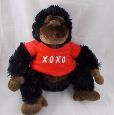 """Caltoy Gorilla Ape Monkey Plush XOXO Sits 13"""""""
