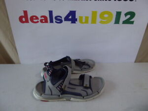 Teva 6777 Gray Spider Rubber Men's Size 12 Water Outdoor Sandals Good Pre Owned