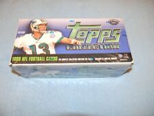 1999 Topps NFL Football Card Collection - Factory Sealed Set