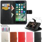 Coque Housse Etui portefeuille en cuir iPhone 5 5s 6 6S 6 plus 6s plus 7 7 plus