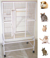 "64"" Large 3-Levels Ferret Chinchilla Sugar Glider Mice Rats Metal Animal Cage"