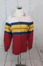 Vintage ROPER Top Shirt Western Cowgirl Striped Womens S Long Sleeve
