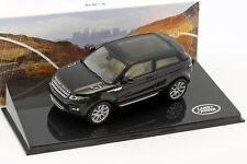 Land Rover Range Rover Evoque Baujahr 2011 santorini schwarz 1:43 Ixo