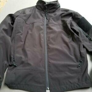 Rothco Mens Black Jacket Size M Tactical