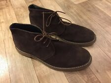 🔥Joseph Abboud🔥 Mens Sz 13 Brown Travis Suede Chukka Boots Lace Up GREAT!!!