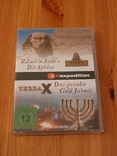 Terra X DVD: Die Sphinx + Das geraubte Gold Jahwes, neu, OVP
