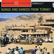 LP TURKEY SONGS & DANCES SONG AND SOUND WORLD AROUND PHILIPS