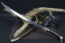 """High quality Chinese sword """"qing dao"""" blacksmithing pattern steel blade#1"""