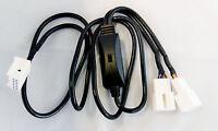 Y- Kabel CD Wechsler und USB AUX SD Umschalter 12Pin Quadlock passend für AUDI