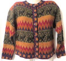 Alpaca Connection Peru 100% Alpaca Handmade Sweater/Cardigan Sz S
