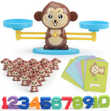 Kids Animals Number Math Learning Toys Monkey Balance Scale Toy Math Game Uk