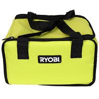 "New Ryobi 12"" x 10"" x 8"" Green Tool Bag for Ryobi Cordless Tools and Accessories"