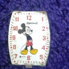 vintage 1940s disney ingersoll mickey mouse wristwatch face
