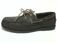 TIMBERLAND Mens Casual EARTHKEEPERS Brown Boat Shoes Leather Loafers US 11 EU 45