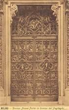 Italy Milano Duomo Nuova Porta in Bronzo del Pogliaghi