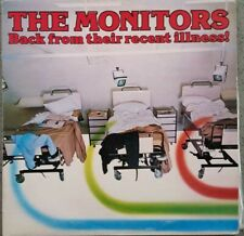 1982 ROCK - THE MONITORS - BACK FROM THEIR RECENT ILLNESS! - LP RED VINYL EX