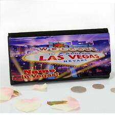 Personalised Las Vegas Night Life Ladies Large Money Coin Purse Mum Gift ST196