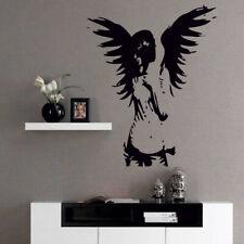 ANGEL wall sticker giant banksy guardian bedroom decalfairy vinyl stickers