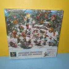 Springbok Critters' Christmas 500 Piece Jigsaw Puzzle Hallmark Keepsake Ornament