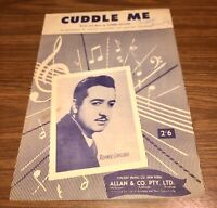 """Vintage 1954 """"CUDDLE ME"""" by Ronnie Gaylord"""