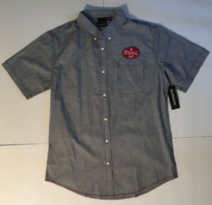 NEW Coors Beer Banquet Work Shirt Delivery Size Large (42-44)
