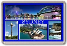 FRIDGE MAGNET - SYDNEY - Large - Australia TOURIST
