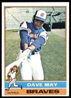 1976 Topps Card Dave May Atlanta Braves #281