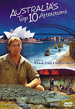 Steve Irwin AUSTRALIA'S TOP 10 ATTRACTIONS - ULTIMATE HOLIDAY TRAVEL GUIDE DVD