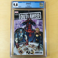 OUTLAWED 1 1:25 SMITH VARIANT CGC 9.8 RIRI WILLIAMS MILES MORALES MARVEL COMICS