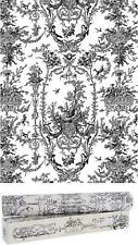 Scentennials Vintage Toile Gray (6 Sheets) Scented Fragrant Shelf  Drawer Liner