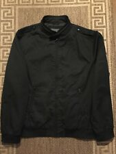 Burton London Men Man Harrington Spring Jacket Size XXL Black