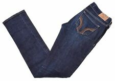 HOLLISTER Womens Jeans W24 L33 Blue Cotton Slim  IW04