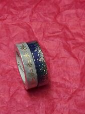 Simply Gilded 10mm Stardust And Plaid Washi Tape New